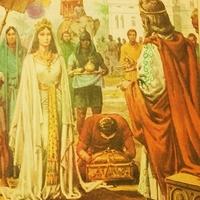 Salamon eredete - Bábiloni sólyom király