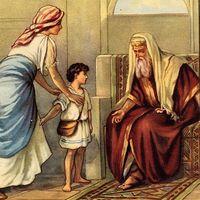 Sámuel első könyve - Sámuel a lévita, a haramiák vezére