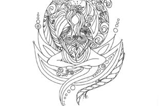 Kismama mandala színezők