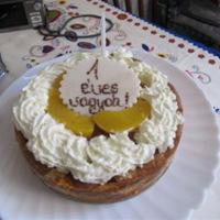 Első szülinapi torta receptje
