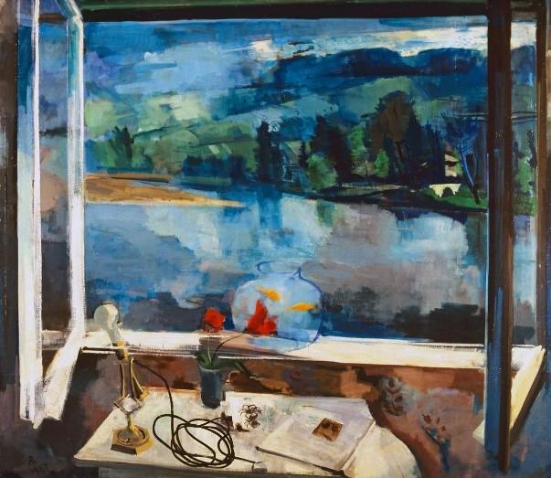 Bernáth Aurél - Reggel (Ablak) 1927