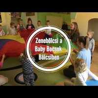 Zenebölcsi  a Baby Bocsok Bölcsődében, Dunakeszin