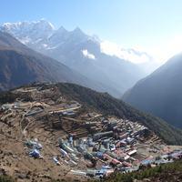 3. nap Namche Bazar (3440 m)