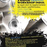 Május 25-én brazil graffiti workshop indul a Corvintetőn