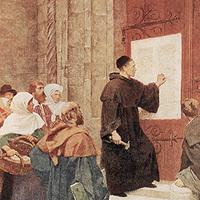 Luther Márton közzéteszi 95 tételét