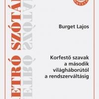 Könyvajánló - Burget Lajos: Retró szótár