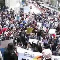 Tüntetés a Wall Street-en a 700 milliárd dolláros bailout ellen