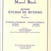;FULL; Quinze Etudes De Rythme Pour Trombone (Fifteen Rhythmical Studies For Trombone). working people short dorso Soccer night Business
