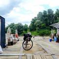 Kerékpárral a Kiskunságban és átkelés egy komppal a Tiszán
