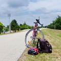 Kerékpártúra kompozással és falunappal a Tisza mentén