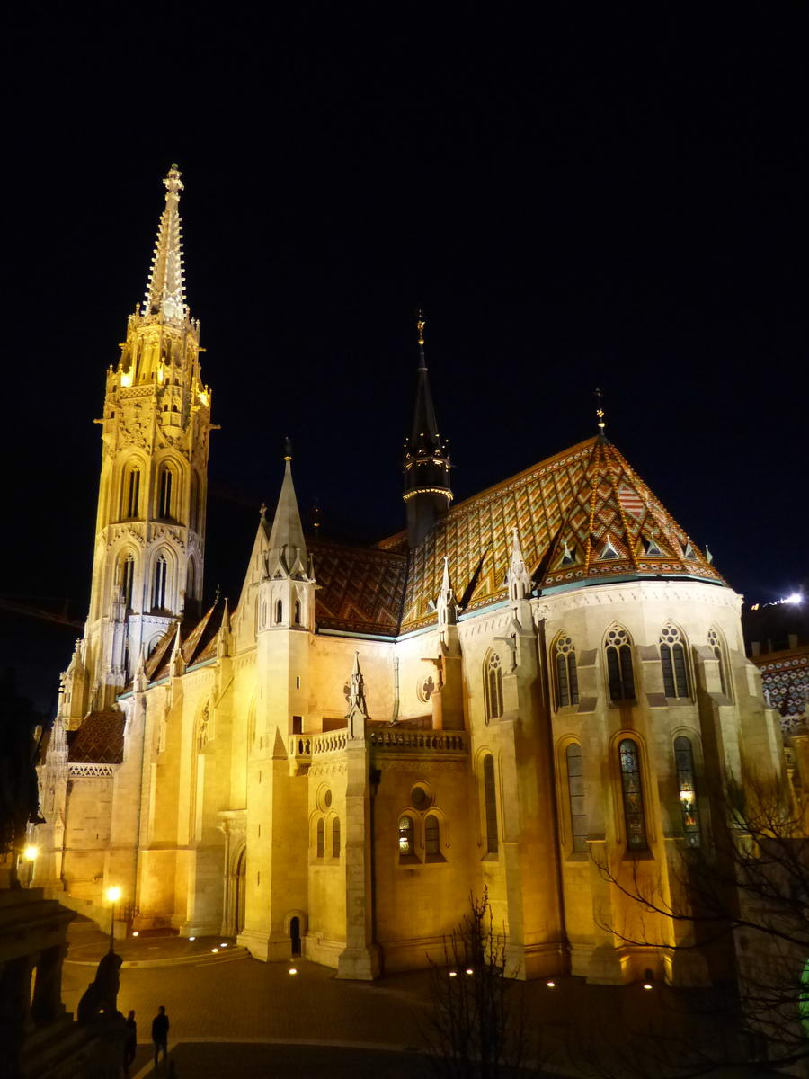 A Mátyás templom a fényképezőgéppel