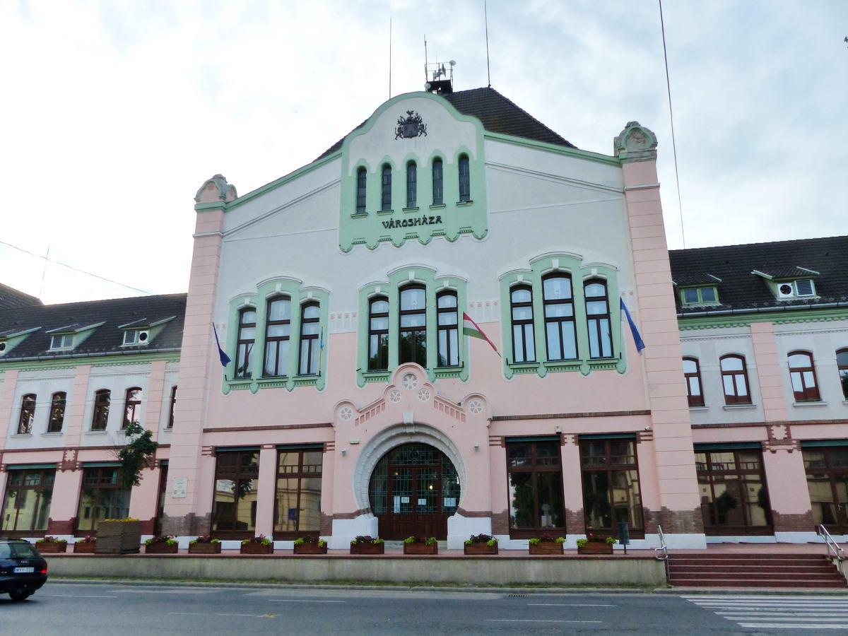 A Városháza épülete