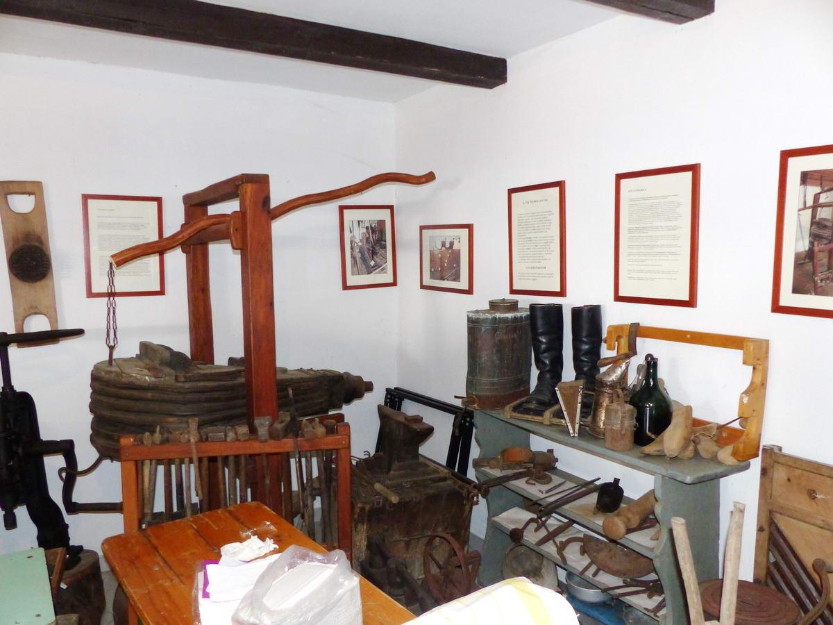 Meglátogattam a faluház kiállítását is