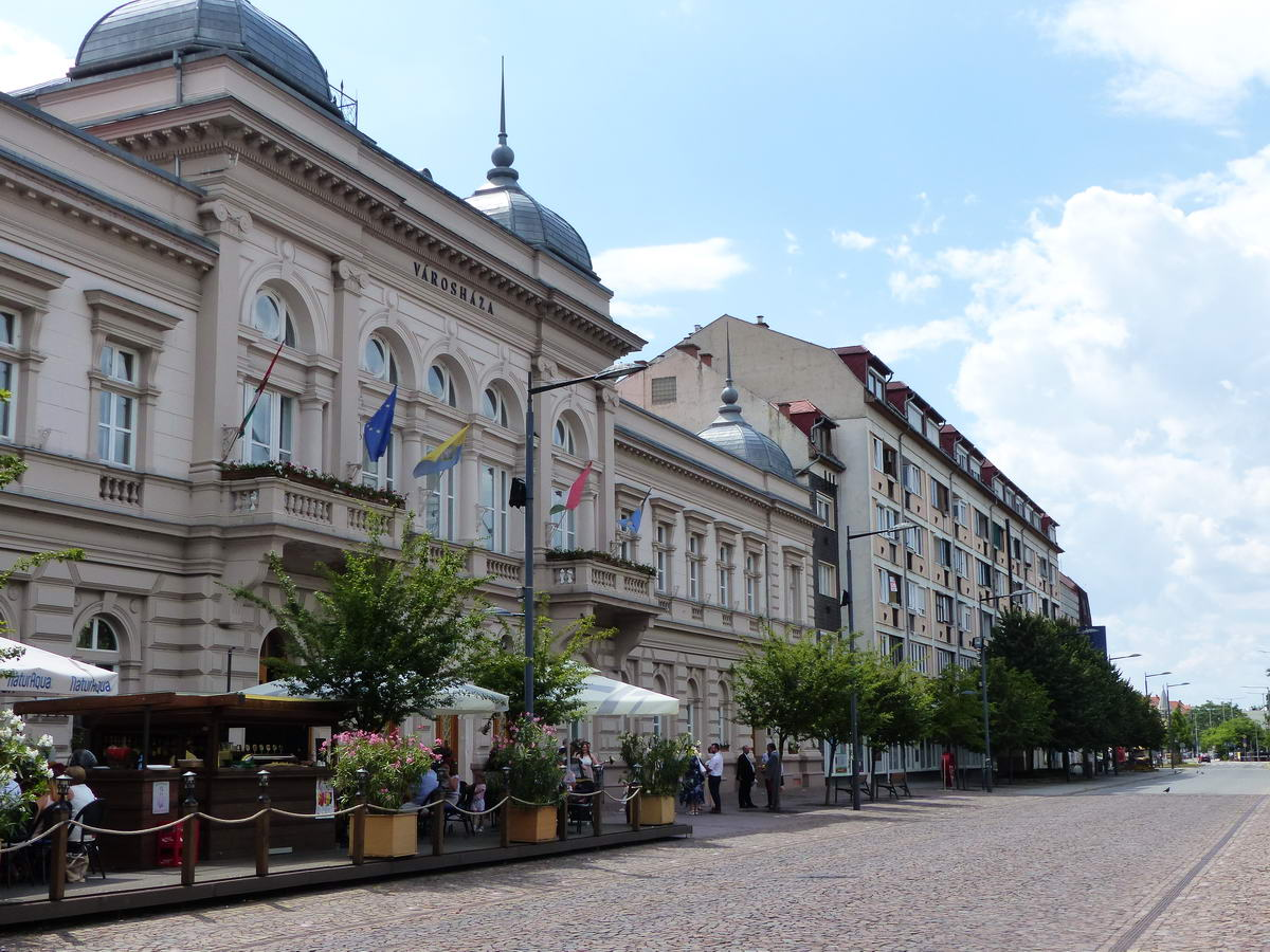 Szolnok, Kossuth tér