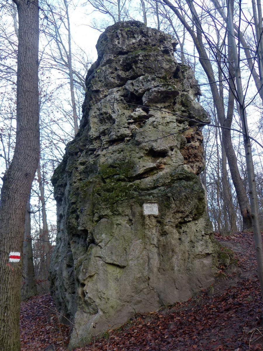 A Végvári-sziklánál