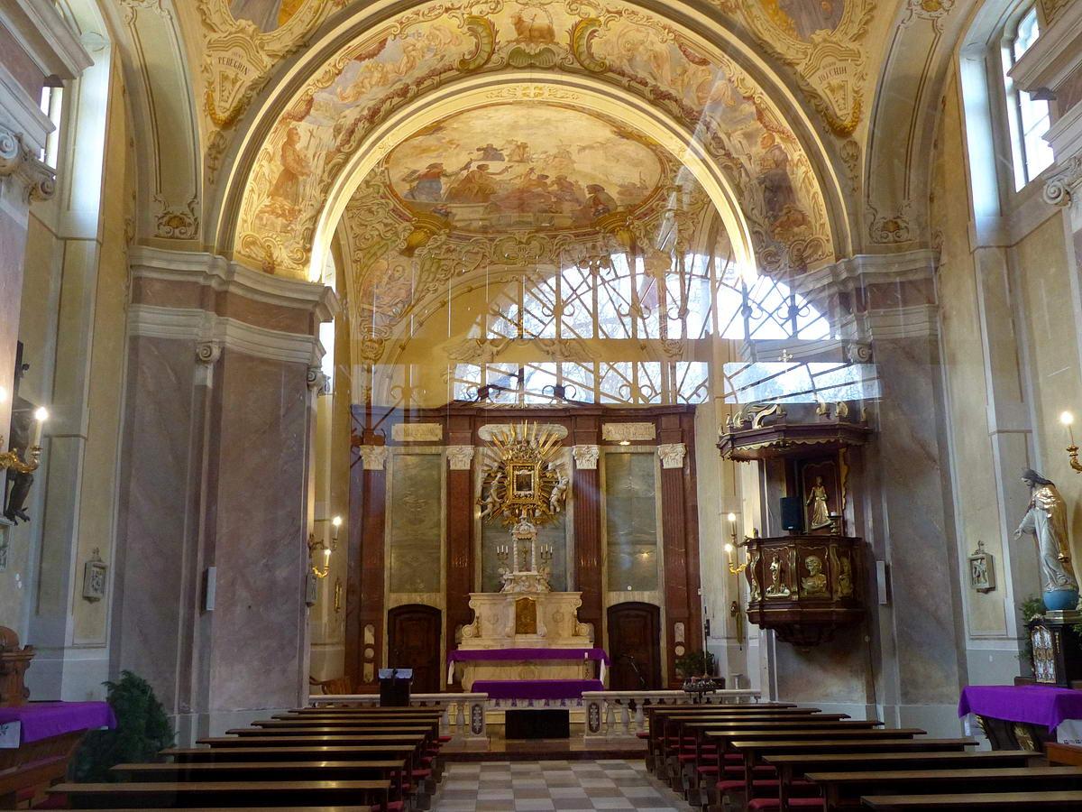 A templom belülről