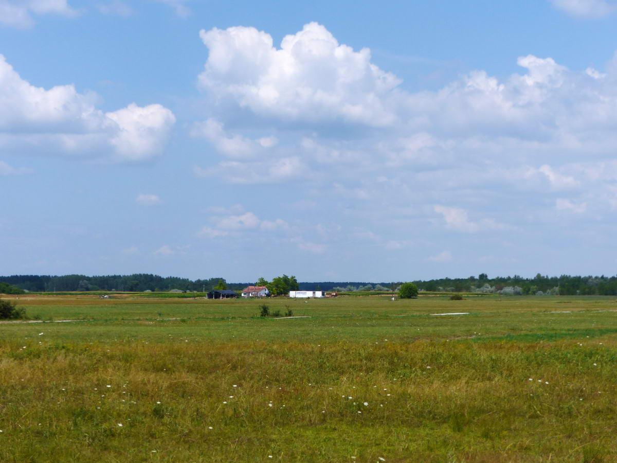 Magányos tanya a kaszálón túl