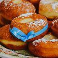 Fánki tájm! Szalagos fánk/Donut worry be happy #donuts #hungariandonut #baking #bakerylife #bakeyoursmile #homemade #homebaking #instagood #instafood #foodporn #foodstagram #gastrophoto #dessertporn #dessert #yum #fánk #szalagosfánk #mutimitsütsz #mutimiteszel #mik #mik_gasztro