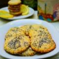 Mákos-citromos keksz