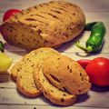 Teljes kiőrlésű kenyér/Whole grain bread #bread #breadart #wholegrain #wholegrainbread #healthybreakfast #healthyfood #seeds #pepper #tomato #foodporn #foodlover #fooddesign #foodstagram #foodinspiration #instafood #instagood #bakerylife #bake #bakeyoursmile #homebaked #homemade #mik #mik_gasztro #mutimitsütsz #mutimiteszel #mutimiteszel_fitt #kenyér