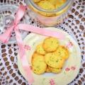 Oregánós-parmezános keksz