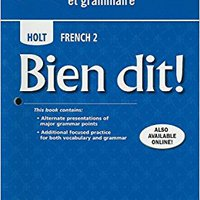 ??FREE?? Bien Dit!: Cahier De Vocabulaire Et Grammaire Level 2. Kupiti PUTTING server etapas Replies Grand Bento Corts
