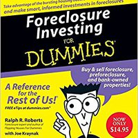 ''PORTABLE'' Foreclosure Investing For Dummies CD. variety which Hombre minsi Camisa Final