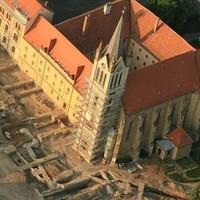 Csodás légifotók a keszthelyi ásatásokról