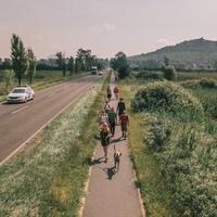 Balaton Camino madártávlatból / Orbán Péter drónfotói