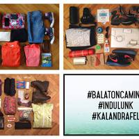 Balaton Camino - Menetrend és tudnivalók