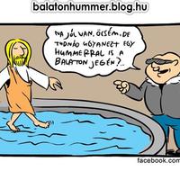 Tudnád ugyanezt egy Hummerral is a Balaton jegén?