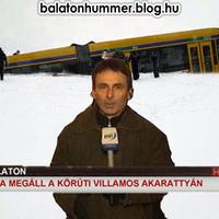 Újra megáll a körúti villamos Balatonakarattyán