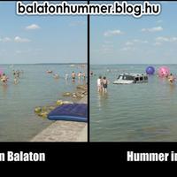 Summer in Balaton, Hummer in Balaton