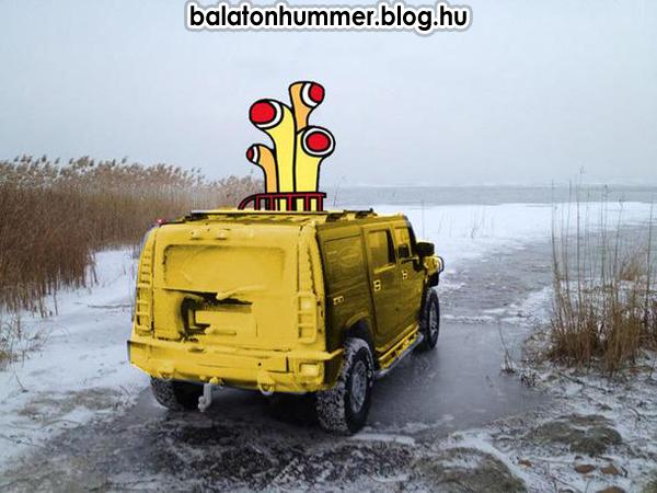 Beatles & Balaton - Yellow Submarine Hummer