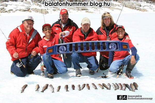 A nagy fogás (Hummer, Balaton)