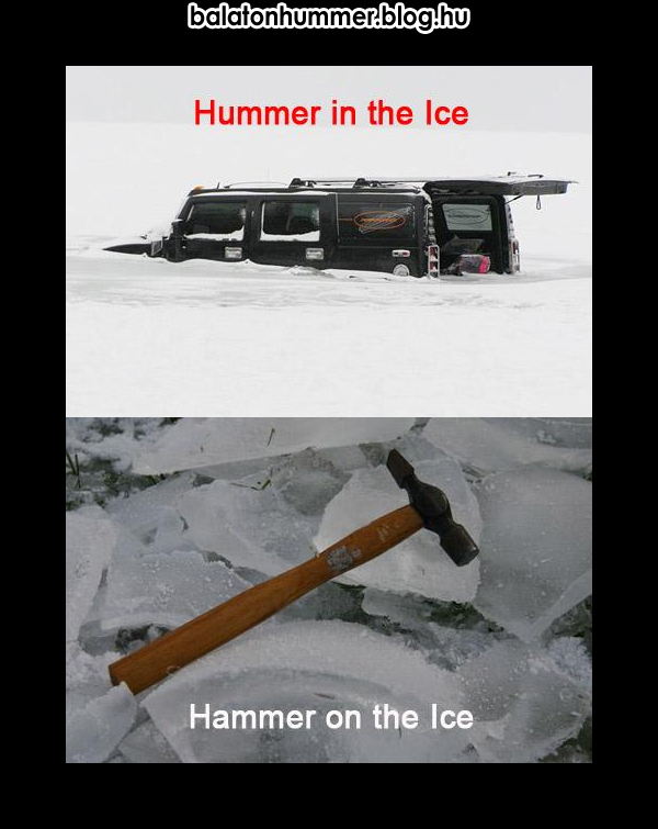 Hummer in the Ice, Hammer on the Ice