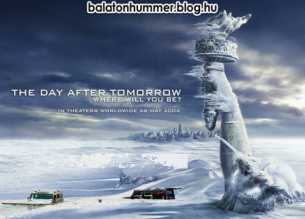 The day after tomorrow - Where will you be? Balaton, in Hummer.