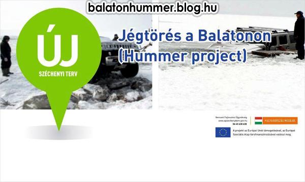 Jégtörés a Balatonon (Hummer project) - Új Széchenyi Terv