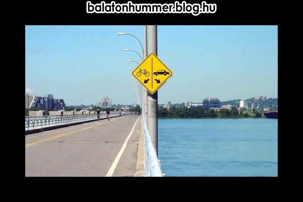 Helyes útirány (Balaton, Hummer)