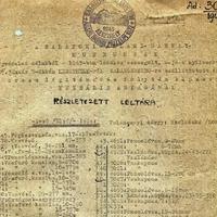 Második világháborús pusztulás a múzeumi anyagban