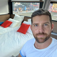 Luxus sátor a Szigeten