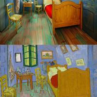 Aludj Van Gogh ágyában!