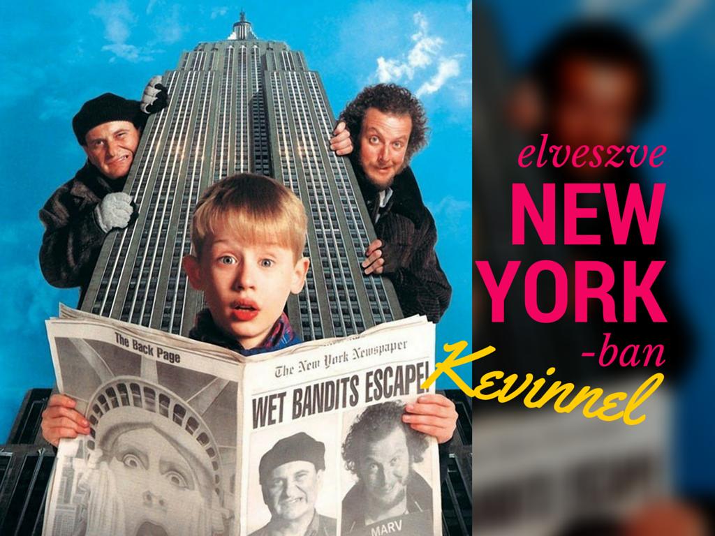 Elveszve New Yorkban Kevinnel - 2016 edition