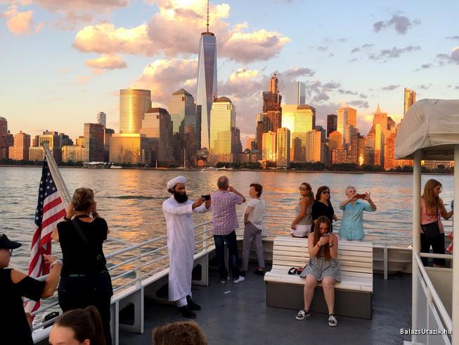 Elgondolkodtató fotó New Yorkról