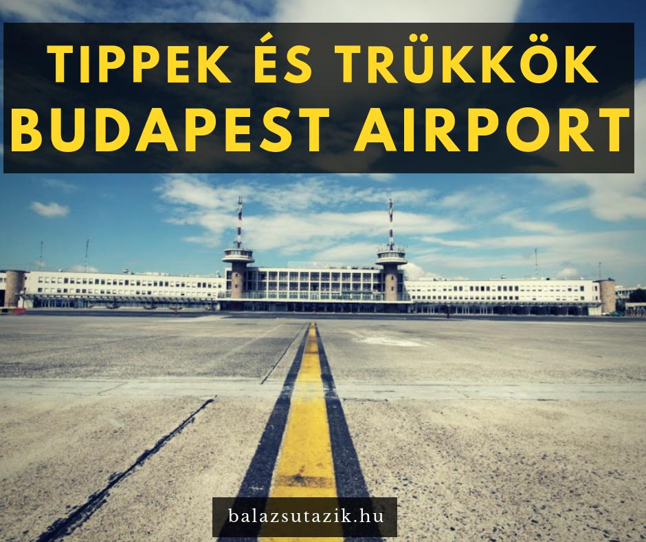 Így cselezz a budapesti repülőtéren