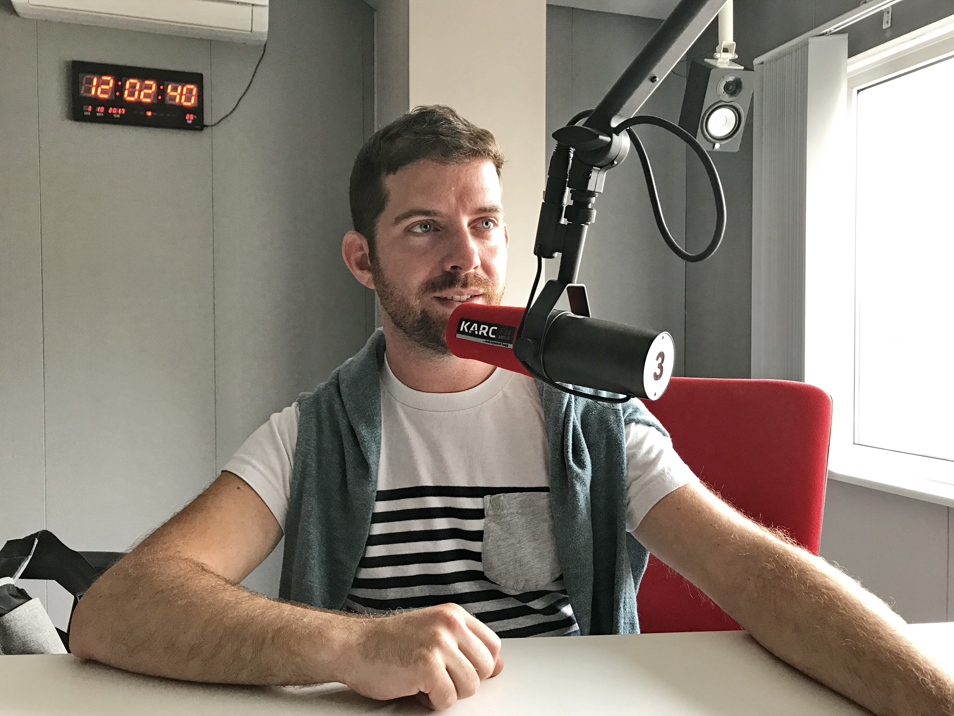 Törzsutas - rádiós vendégségben PRESS