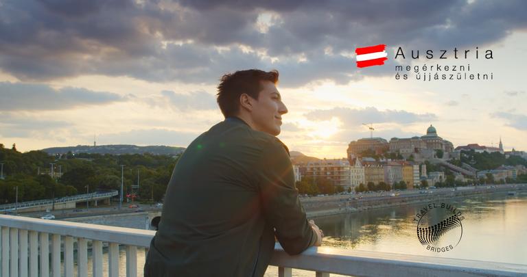 Budapesti panorámával népszerűsítik Ausztriát