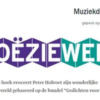 Poezieweek - Muziekdooswereld Peter Holvoet-Hanssennel