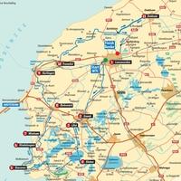 Friesland - Hollandia kerékpárral