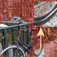 Kerékpáros átverés Amszterdamban